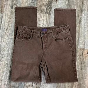 NYDJ Slim Brown Pants